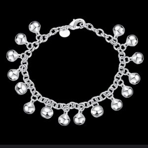 925 STERLING SILVER JINGLE BRACELET